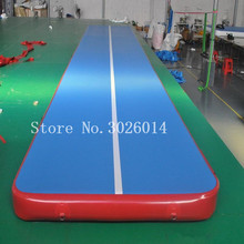 Free Shipping 7*1*0.2m Inflatable Air Track Gymnastics Tumbling Mat 8inches Thickness Floor Training Mats for Gymnastic
