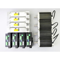 4 Axis CNC Kit 13Nm(1841oz.in) Nema 34 Stepper Motor & MA860H Driver CNC Router Plasma Mill