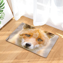 CAMMITEVER Wild Animals Fox Area Rug Home Bedroom Bathroom Floor Door Mat Anti-Skid Carpets For Living Room
