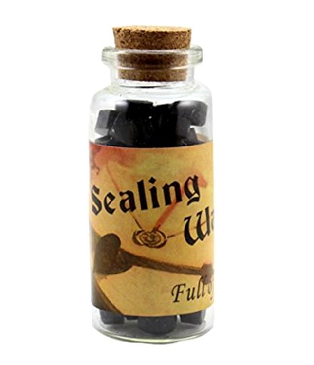 MDLG 1 Bottle Of Octagonal Sealing Wax Sticks Beads For Wax Seal Stamp (Black) ашавский б ред современное международное право теория и практика contemporary international law theory and practice