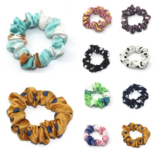 1PC Big Dot Elastic Hair Bands Tie-dye Scrunchies Ponytail Rubber Band Rope Tie New Design Partywork Headwear