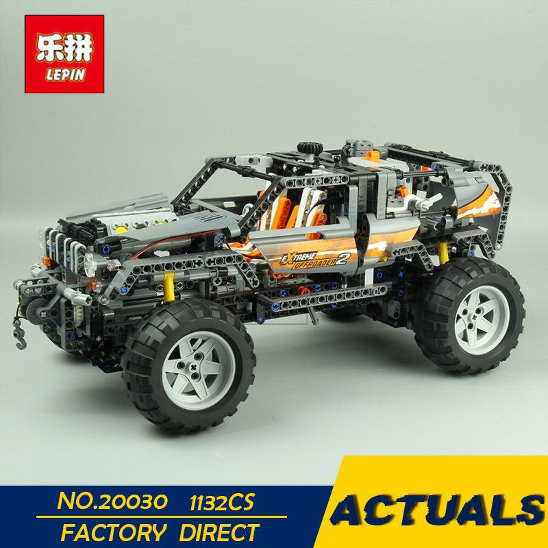 LEPIN 20030 1132Pcs Technic Ultimate Series The Off-Roader Set Children Educational Building Blocks Bricks Toys Model Gifts 8297 1132pcs legoing technic ultimate series the off roader sets children educational building blocks bricks toys for children gifts