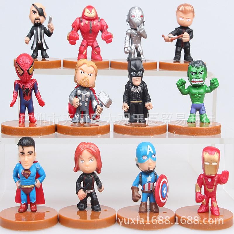 Aliexpress.com : Buy 12pcs/lot The Avengers 2 Miniatures ...