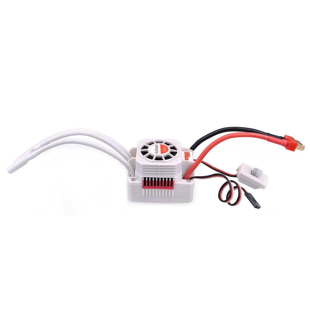Image 4 - SURPASSHOBBY Platinum Waterproof Combo 3660 4300KV 3800KV 3300KV 2600KV Brushless Motor w/ 60A ESC Programming Card for 1/10-in Parts & Accessories from Toys & Hobbies