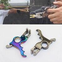 6 16MM Stainless Steel Hand held Slingshot Release Slingshot Trigger Device DIY Accessories