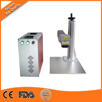Standard Configuration 20W Portable Fiber Laser Engraving Machine Price
