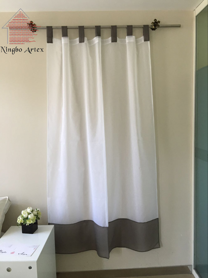 Telas para cortinas modernas beautiful cortinas modernas for Cortinas de tela modernas