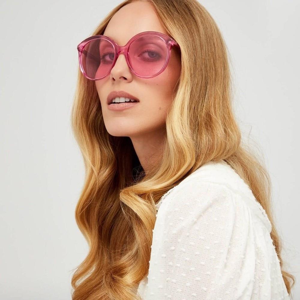 Vintage round sunglasses women female brand design metal frame circle glasses oculos de sol feminino uv400