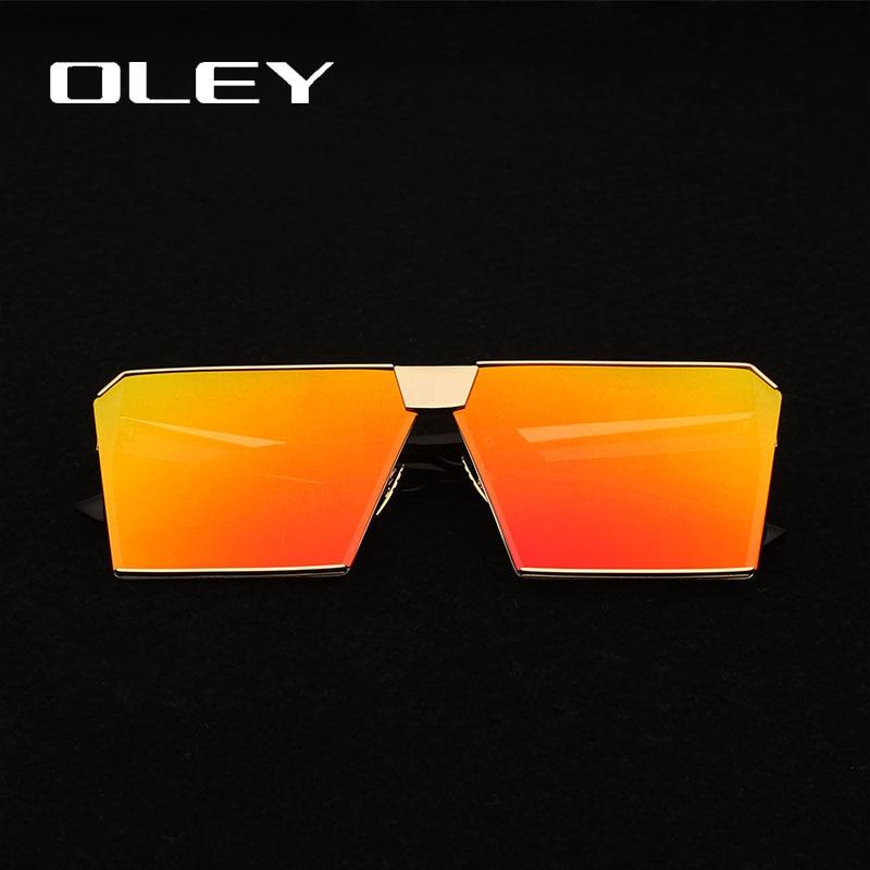 Κορυφαία μόδα πλατεία γυαλιά ηλίου - Αξεσουάρ ένδυσης - Φωτογραφία 3