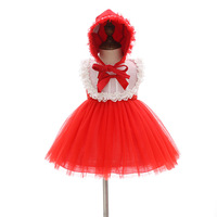 1 Year Old Birthday Baby Girl Dresses Christmas Angel Red Bow Party Vestido 2019 Toddler Baby Girl Clothes for 0 24 Month 194001