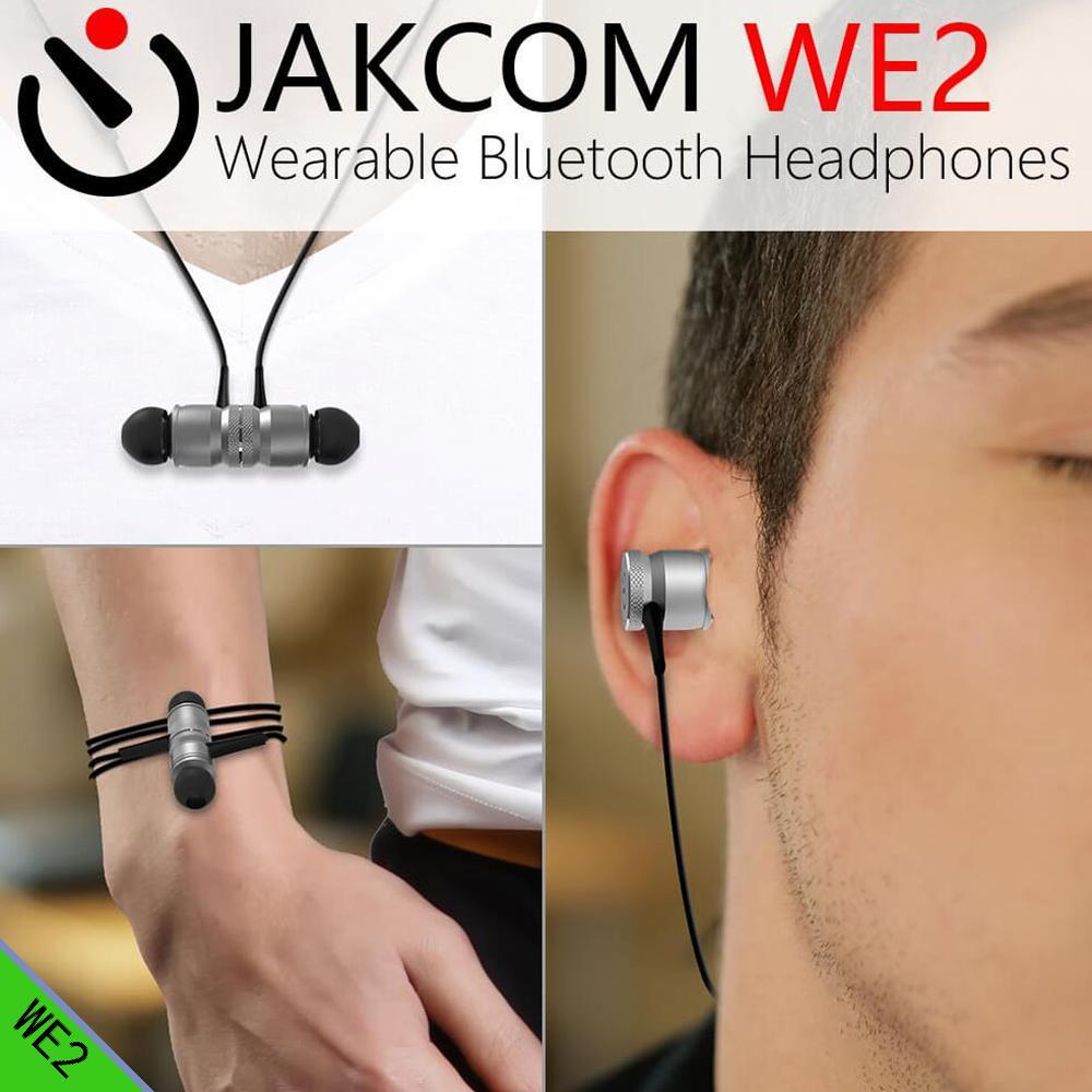 JAKCOM WE2 Smart Wearable Earphone as Earphones Headphones in headphone redmi note 5 pro fone de ouvido sem fio