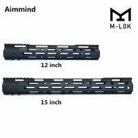 Ultra Light super slim MLok M LOK Handguard Free Float Handguard Picatinny Rail System for AR 15 M16 M4 Rifle Handguard