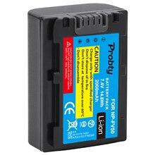 2000Mah NP FV50 FV50 Camera Batterij Voor Sony Hdr CX580E CX700E CX760E CX360E PJ10E PJ30E HDR XR350E XR550E XR260E XR150E camera