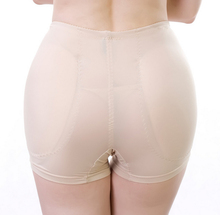 Women's False Butt Pads Panties Smooth surface Waisted Briefs Body Shaping Padded Fake Ass Knickers Plump Hip Buttock Breathable