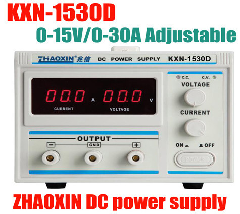 где купить  ZhaoXin KXN-1530D 0-15V ,0-30A Factory direct KXN-1530D Series High-power Switching DC Power Supply Single output 0-15V 0-30A  по лучшей цене