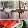 Breve fashion elástico divisão tampa do assento tampa de assento cadeira fezes cobertura da superfície