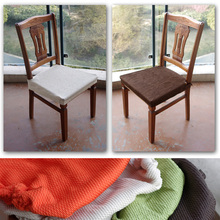 Brief fashion elastic seat set velcro split chair cover stool surface