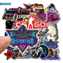 50pcs Shooter Sniper CS GO Fair Game Stickers for Mobile Phone Laptop Luggage Guitar Case Skateboard Fixed Gear Bike Stickers(China)