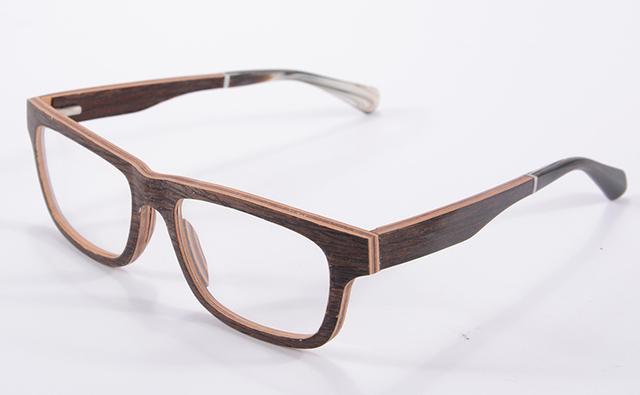Shabby Chic First Class Wooden Glasses Frame Flexiable Eyeglasses Frame  Women Oliver Oculos De Grau Masculino