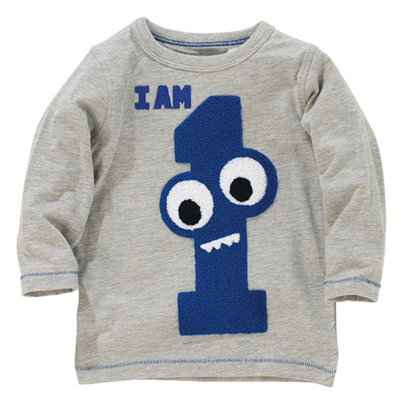 Jumpingbaby 2018 Kids Clothes Boys T shirt Children Spring T-Shirt Todder Camiseta Clothing Long Sleeve Baby Boy T-shirts Roupas navy style boys t shirts 2016 new spring fake two pieces striped patch kids t shirt brand boy clothes casual children clothing