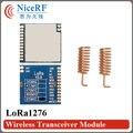 2 unids/lote LoRa1276 100 mW SX1276 Chip SPI Interfaz Sensibilidad-139 dBm 915 MHz 4 km Larga Distancia RF transmisor Y el Receptor