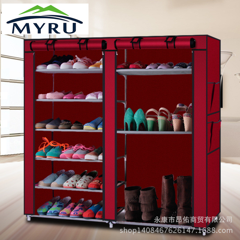 Creative shoe rack easy receive shoe rack non-woven creative shoe rack easy receive shoe rack non woven