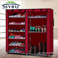 Creative shoe rack easy receive shoe rack non-woven