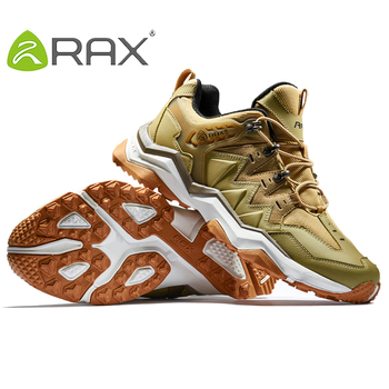 RAX Men Waterproof Hiking Shoes  Outdoor Multi-terrian Cushioning Climbing Shoes Men Lightweight Backpacking Trekking Shoes Men 5