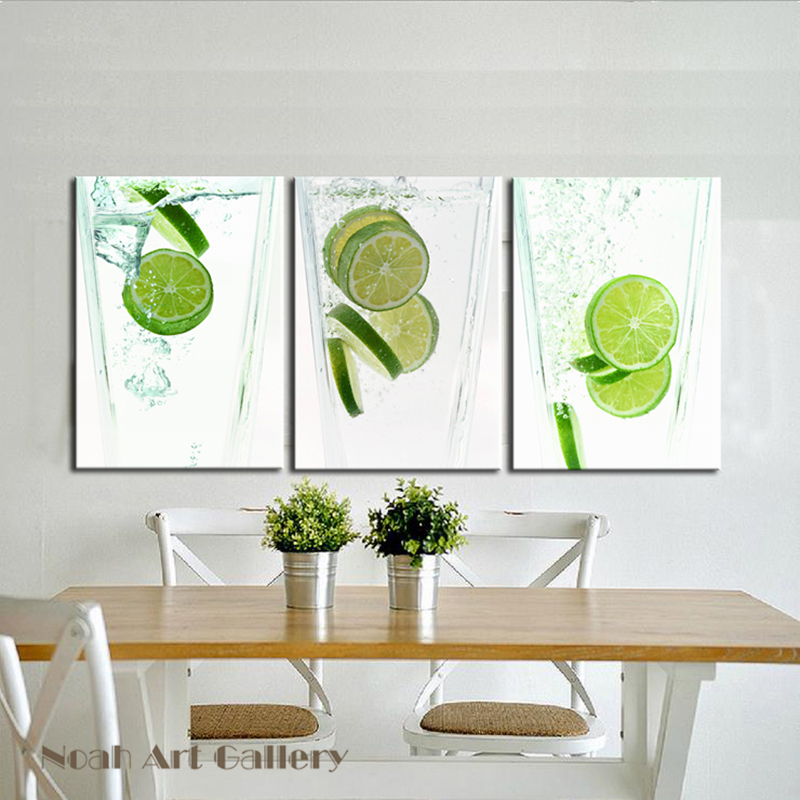 spray painting canvas printing lemon in glass abstract canvas print