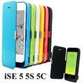 RU EUA Para iSE/5S/Tampa 5C 4200 mAh de Energia USB Externo banco Carregador de Bateria De Backup Pacote Caso iphone5 com USB/filme Temperado