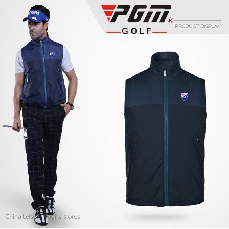 PGm Authentic Golf Clothes Vest Windproof Waterproof Jackets Mens Outerwear Men's Clothing Uniforms Vest 4colors Plus Size