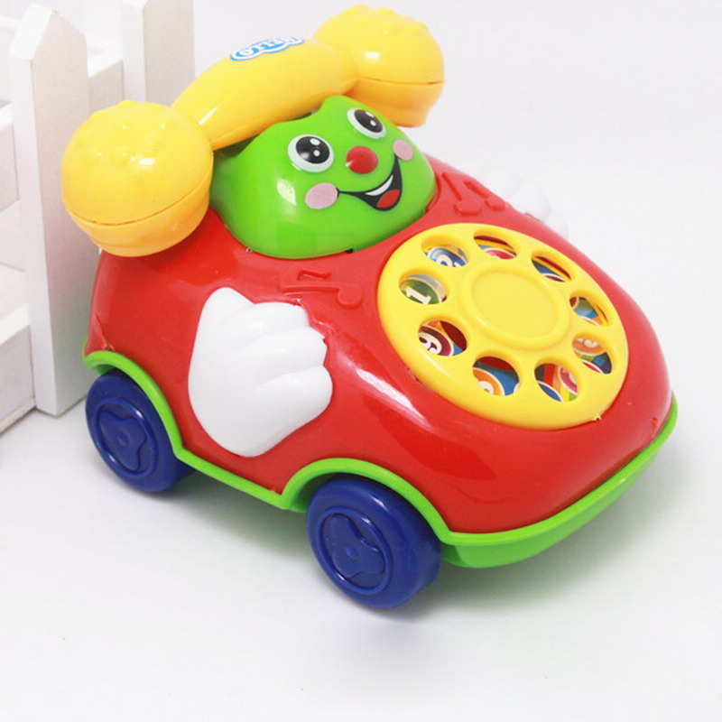 Baby Children Toys Music Cartoon Phone Educational Developmental Kids Boys Girls Birthday Toy Gift P15
