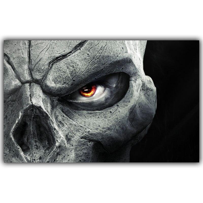 Darksiders II 2 Obra-Video Game Poster Print etiqueta de La Pared Decoración Del