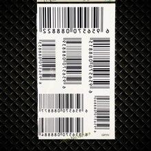 QR Code Temporary Tattoo Stickers Barcode Bar Waterproof Fake Flash Black Tattoo Stickers For Women Kids GGF551 Men Body ARm