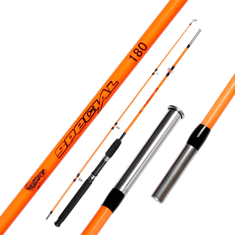 Random Color 1m 1.35m 1.5m 1.65m 1.8m Glass Lure Rod Ocean Ultra Light Spinning Casting Boat Raft Sea Fishing Rods Canne A Peche