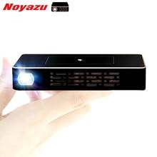 Noyazu 5000 mAH Batería Portátil DLP Proyector Inteligente con Teclas Táctiles HD Proyector Beamer Soporte AirPlay Miracast