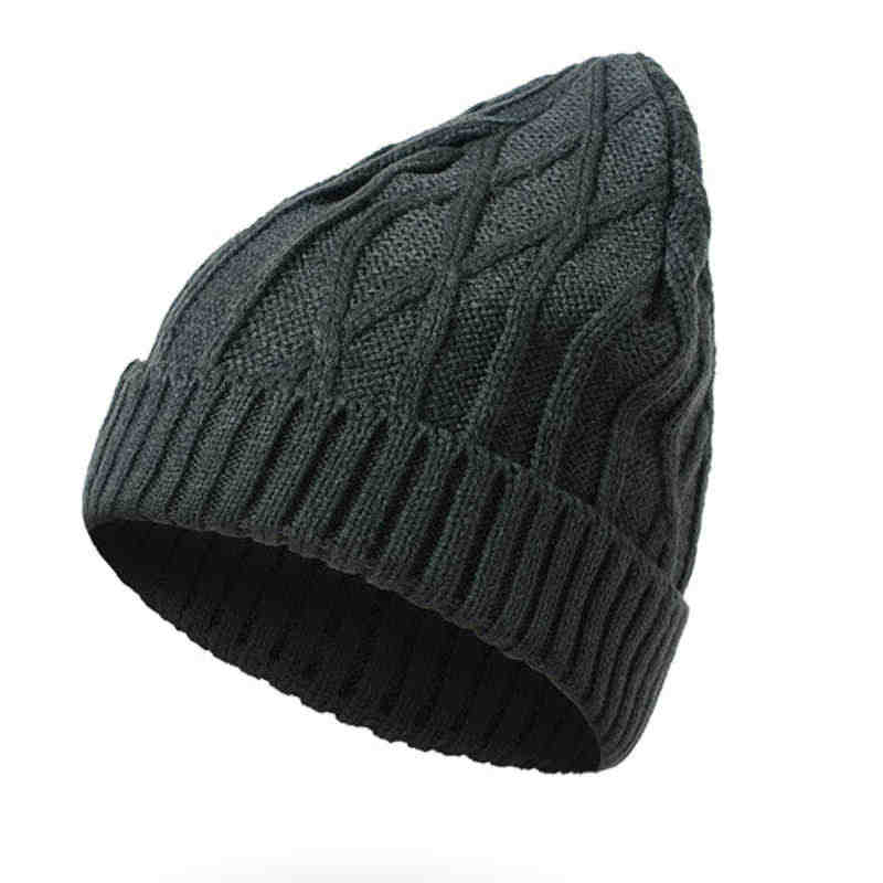73fa95990ef ... Kajeer Winter Ladies Knit Thick Warm Hat Fashion Solid Color Cashmere Ladies  Women Skullies Beanies Super ...