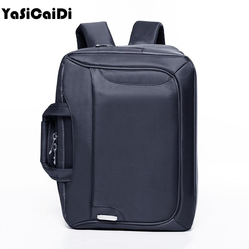 YASICAIDI Multifunction Grade Polyester Men Briefcases Large Business  Messenger Bag Men Office Handbag Men Casual Men 01c3cc9974bb1