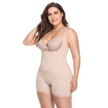 6adf7b95e0467 Plus size shapewear corset bustier slimming bodysuit body shaper slim  corset 4XL 5XL abdomenal shaper woman