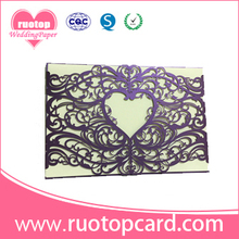 Buy tombstone unveiling invitation cards and get free shipping on romantic wedding invitation card laser cut puberty ceremony stopboris Choice Image