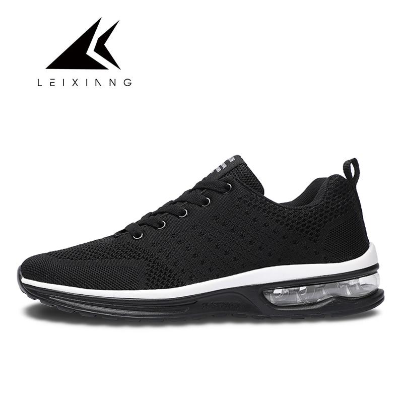 Leixiang 2018 air chaussures de course 97 flyknit baskets amortissement chaussures de sport pour hommes chaussures de course chaussures femme grande taille 47