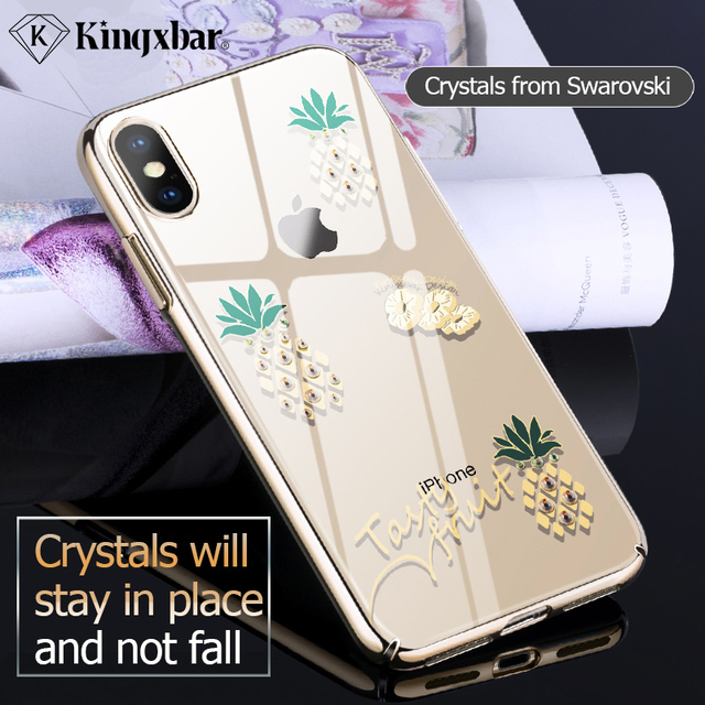 1a5067393 KINGXBAR for iPhone Xs Cover Cute Transparent Cover for iPhone Xs ...