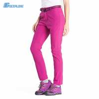 Outdoor mountaineer Hiking pants women outdoor anti-UV breathable sports quick-drying sport pants camping pants