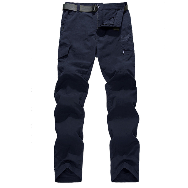 Men's Military Style Cargo Pants Men Summer Waterproof Breathable Male Trousers 4