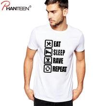 3ccf4d32aa Phanteen Summer Short Sleeve Man T Shirts Funny Life Slogan Letter Print  Casual T-shirts Slim Fit Top Tees Fashion Men Clothing