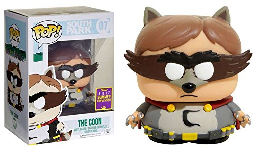 2017 SDCC Exclusive Funko pop Official Cartoon South Park - The Coon Vinyl Figure Collectible Model Toy with Original Box funko pop official movies moana maui pvc action figure toys 2017 new 100% original pop toy for children baby gift comes with box
