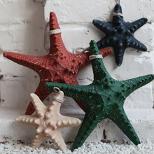 Resin manualidades star fish decoration marine beach wedding decoration high artificial starfish zakka home decor