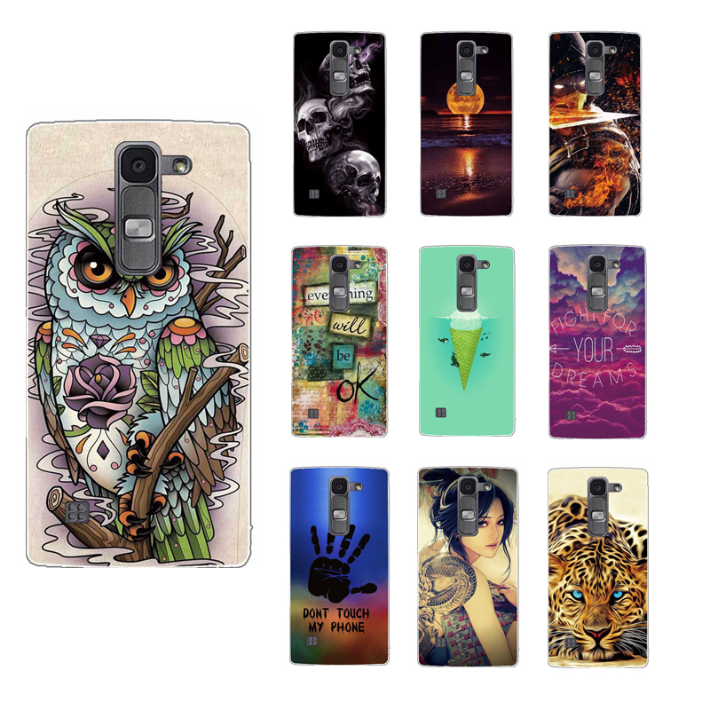 sale retailer 579aa 94a00 Cover for LG Spirit Case Silicone Cover Case for LG Spirit 4G LTE H440N  H420 4.7