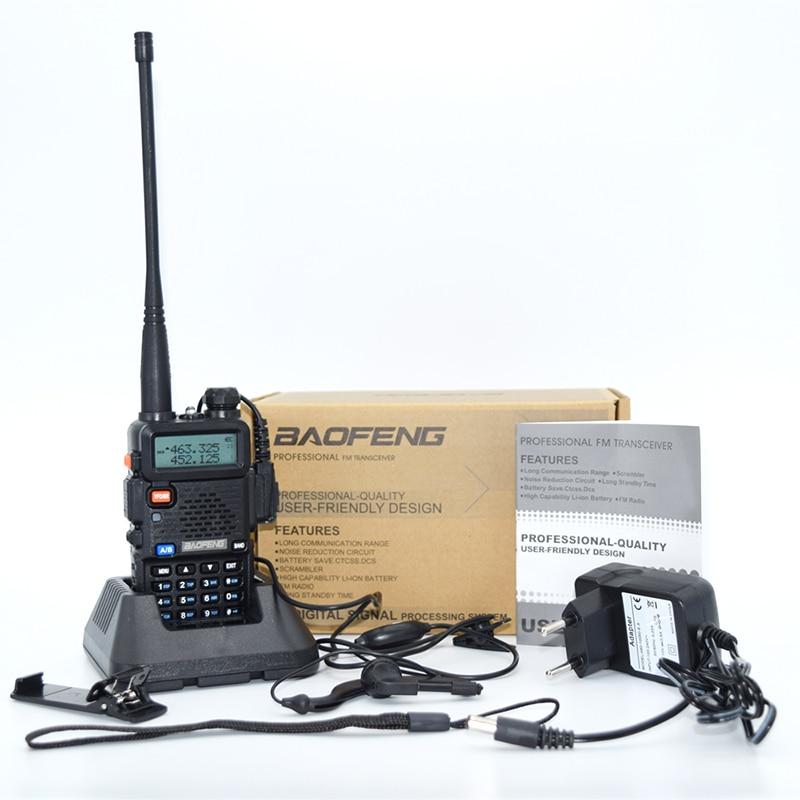 Baofeng UV-5R Handheld Two Way Radio Walkie Talkie For VHF UHF Dual Band Ham CB Radio Station 6
