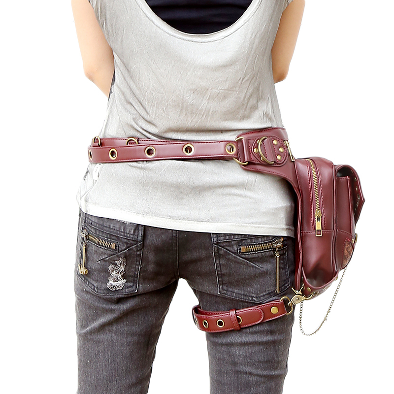 bolsa da cintura steampunk exclusivo Shape : Motorcycle